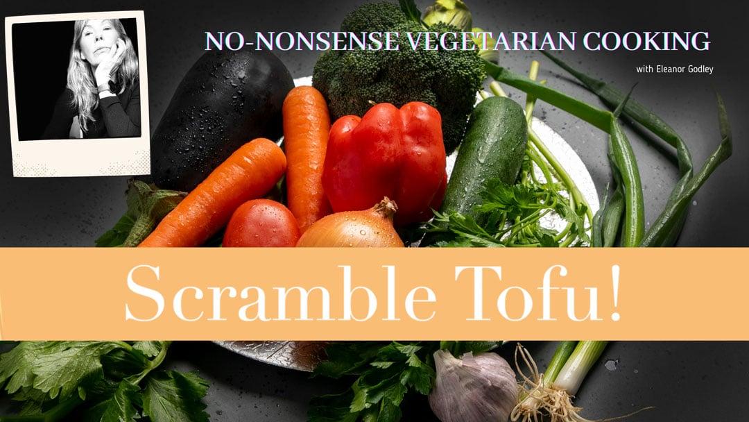 scramble tofu recipe